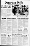 Spartan Daily, November 6, 1972 by San Jose State University, School of Journalism and Mass Communications