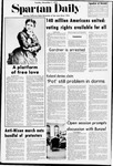 Spartan Daily, November 7, 1972 by San Jose State University, School of Journalism and Mass Communications