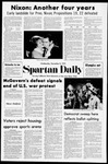 Spartan Daily, November 8, 1972 by San Jose State University, School of Journalism and Mass Communications