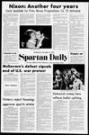 Spartan Daily, November 8, 1972