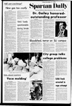 Spartan Daily, November 17, 1972 by San Jose State University, School of Journalism and Mass Communications