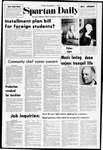 Spartan Daily, December 1, 1972 by San Jose State University, School of Journalism and Mass Communications