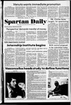 Spartan Daily, January 16, 1974 by San Jose State University, School of Journalism and Mass Communications