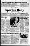 Spartan Daily, April 18, 1974
