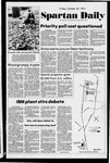 Spartan Daily, October 25, 1974 by San Jose State University, School of Journalism and Mass Communications