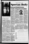 Spartan Daily, October 29, 1974 by San Jose State University, School of Journalism and Mass Communications