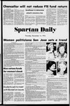 Spartan Daily, November 14, 1974 by San Jose State University, School of Journalism and Mass Communications