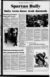 Spartan Daily, November 21, 1974 by San Jose State University, School of Journalism and Mass Communications
