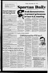 Spartan Daily, November 22, 1974 by San Jose State University, School of Journalism and Mass Communications