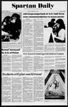 Spartan Daily, February 14, 1975 by San Jose State University, School of Journalism and Mass Communications