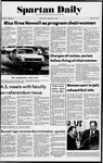 Spartan Daily, February 19, 1975 by San Jose State University, School of Journalism and Mass Communications