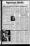 Spartan Daily, February 20, 1975 by San Jose State University, School of Journalism and Mass Communications