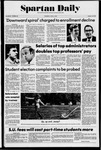 Spartan Daily, April 3, 1975 by San Jose State University, School of Journalism and Mass Communications
