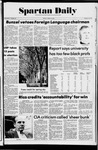 Spartan Daily, April 18, 1975 by San Jose State University, School of Journalism and Mass Communications