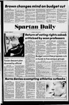Spartan Daily, April 24, 1975 by San Jose State University, School of Journalism and Mass Communications