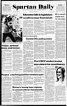Spartan Daily, April 7, 1976 by San Jose State University, School of Journalism and Mass Communications