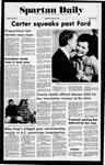 Spartan Daily, November 3, 1976 by San Jose State University, School of Journalism and Mass Communications