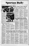 Spartan Daily, May 6, 1977 by San Jose State University, School of Journalism and Mass Communications
