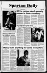 Spartan Daily, May 17, 1977 by San Jose State University, School of Journalism and Mass Communications