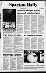 Spartan Daily, May 18, 1977 by San Jose State University, School of Journalism and Mass Communications