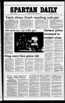 Spartan Daily, October 11, 1977 by San Jose State University, School of Journalism and Mass Communications