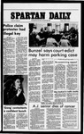 Spartan Daily, October 14, 1977 by San Jose State University, School of Journalism and Mass Communications