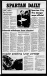 Spartan Daily, October 28, 1977 by San Jose State University, School of Journalism and Mass Communications