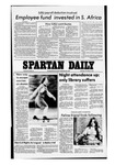 Spartan Daily, November 17, 1977 by San Jose State University, School of Journalism and Mass Communications