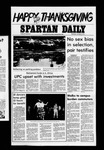 Spartan Daily, November 23, 1977 by San Jose State University, School of Journalism and Mass Communications