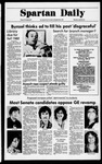 Spartan Daily, April 20, 1978 by San Jose State University, School of Journalism and Mass Communications