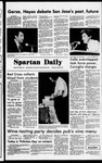 Spartan Daily, April 27, 1978 by San Jose State University, School of Journalism and Mass Communications