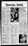 Spartan Daily, May 12, 1978 by San Jose State University, School of Journalism and Mass Communications