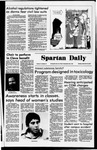 Spartan Daily, September 18, 1978 by San Jose State University, School of Journalism and Mass Communications