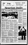 Spartan Daily, September 14, 1979 by San Jose State University, School of Journalism and Mass Communications