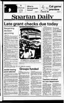 Spartan Daily, September 21, 1979 by San Jose State University, School of Journalism and Mass Communications
