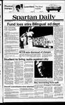 Spartan Daily, September 27, 1979 by San Jose State University, School of Journalism and Mass Communications