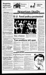 Spartan Daily, October 1, 1979 by San Jose State University, School of Journalism and Mass Communications