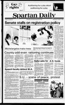 Spartan Daily, October 3, 1979 by San Jose State University, School of Journalism and Mass Communications
