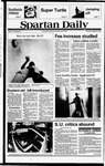 Spartan Daily, October 4, 1979 by San Jose State University, School of Journalism and Mass Communications