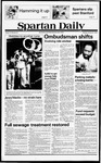 Spartan Daily, October 8, 1979 by San Jose State University, School of Journalism and Mass Communications