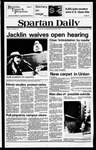 Spartan Daily, October 23, 1979 by San Jose State University, School of Journalism and Mass Communications