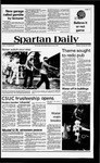 Spartan Daily, October 29, 1979 by San Jose State University, School of Journalism and Mass Communications