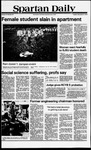 Spartan Daily, November 6, 1979 by San Jose State University, School of Journalism and Mass Communications