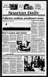 Spartan Daily, November 8, 1979 by San Jose State University, School of Journalism and Mass Communications