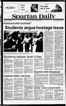 Spartan Daily, November 9, 1979 by San Jose State University, School of Journalism and Mass Communications