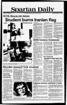Spartan Daily, November 12, 1979 by San Jose State University, School of Journalism and Mass Communications