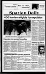 Spartan Daily, November 21, 1979 by San Jose State University, School of Journalism and Mass Communications