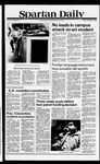 Spartan Daily, February 22, 1980 by San Jose State University, School of Journalism and Mass Communications