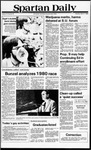 Spartan Daily, April 17, 1980 by San Jose State University, School of Journalism and Mass Communications