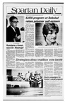 Spartan Daily, October 21, 1980 by San Jose State University, School of Journalism and Mass Communications